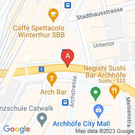 Standorte von Jobs und Stellenangebote in Winterthur - April 2018
