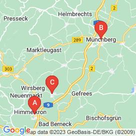 Standorte von Jobs in Marktschorgast - August 2018
