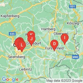 Standorte von Lehrstelle Jobs in Hartberg-Umgebung - Juni 2018