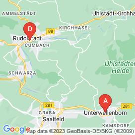 Standorte von Reinigung Jobs in Rudolstadt - Juni 2018
