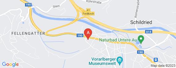Standort von Frühaufsteher (m/w) (7,4 Std./Woche), 6820 Frastanz, Feldkircher Str. 37