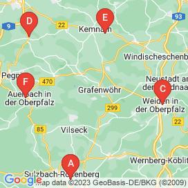 Standorte von Teilzeit / Aushilfskraft Jobs in Oberpfalz - August 2018