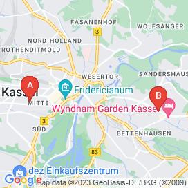 Standorte von Jobs und Stellenangebote in Kassel - April 2018
