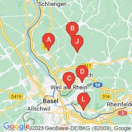 Standorte von Vollzeit Jobs in Birsfelden - Juni 2018
