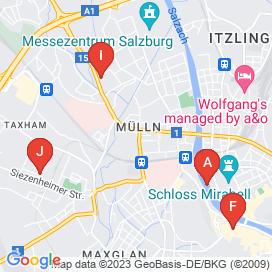 Standorte von Verkäufer Jobs in Bayernstraße, Siezenheim - Juni 2018