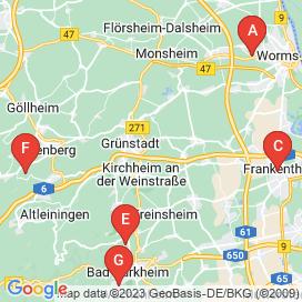 Standorte von Personaldienstleister Jobs in Kirchheim an der Weinstraße (Sausenheim)