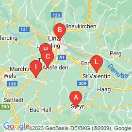 Standorte von Einkauf / Logistik / Lagerwirtschaft Jobs in Niederneukirchen