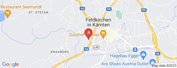 Standort von Lehre zum/-r Einzelhandelskaufmann/-frau  9560 Feldkirchen, Ossiacher Bundesstr. 6