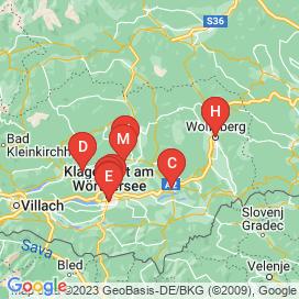 Standorte von 100+ Jobs in 9125 - August 2018