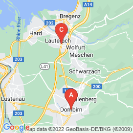 Standorte von Kontakt Jobs in Langenegg - August 2018