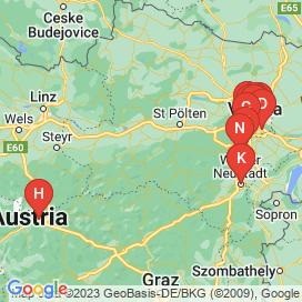Standorte von Ba Jobs  - Mai 2018