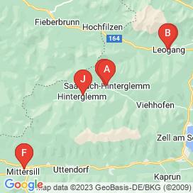 Standorte von Jobs in Hinterglemm - Juni 2018