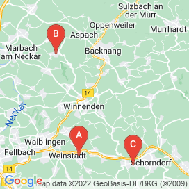 Standorte von Maschine Jobs in Winnenden - August 2018