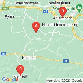 Standorte von Jobs in Kaumberg - Juni 2018