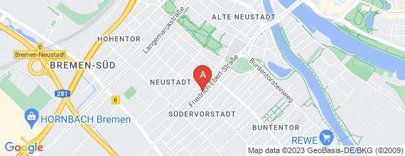 Standort von Bremen Neustadt: Verkaufstalente in VZ (m/w) gesucht (Helfer/in - Gastgewerbe)
