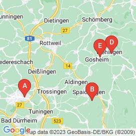Standorte von Bau Jobs in Rottweil - Mai 2018