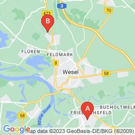 Standorte von 3 Einkauf / Lager / Transport Jobs in Xanten - Stellenangebote bis 1824 EUR