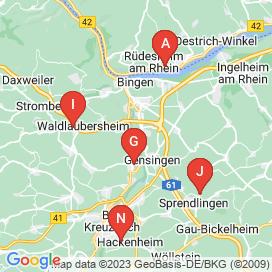 Standorte von Vollzeit Jobs in Gensingen - Juni 2018