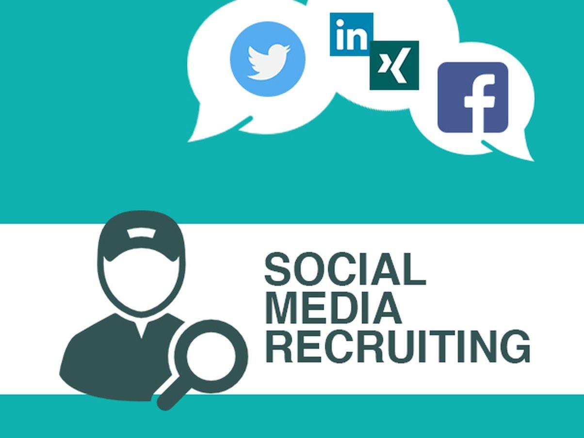 Recruiting in sozialen Netzwerken.