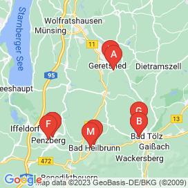 Standorte von Jobs und Stellenangebote in Bad Tölz - April 2018