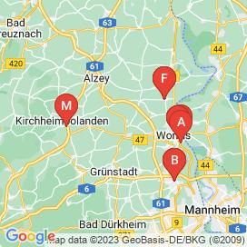 Standorte von 110+ Jobs in Obrigheim (Pfalz) - August 2018