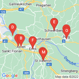 Standorte von Jobs in Sankt Valentin - Juni 2018