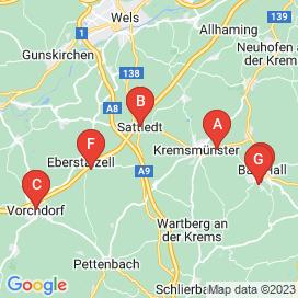 Standorte von EDV Jobs in Pratsdorf - August 2018