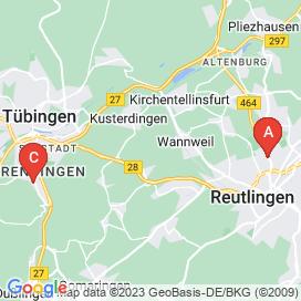 Standorte von Fachinformatiker Jobs in Reutlingen - August 2018