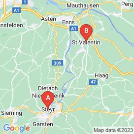 Standorte von Lagerwirtschaft Logistik Jobs in Weistrach - August 2018