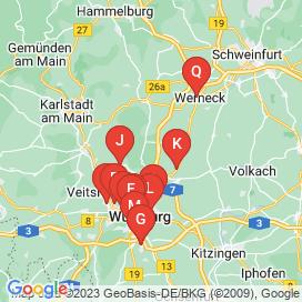 Standorte von Jobs in Unterpleichfeld - Juni 2018