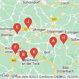 Standorte von Helfer Jobs in Heiningen (Jebenhausen) - Mai 2018