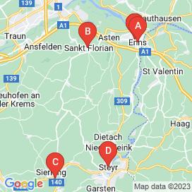 Standorte von Montage Jobs in Dietach - Juli 2018