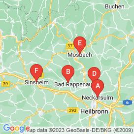 Standorte von Fahrzeugtechnik Jobs in Siegelsbach - Mai 2018