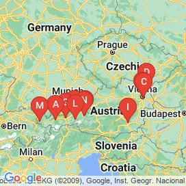Standorte von TV Jobs  - Juni 2018