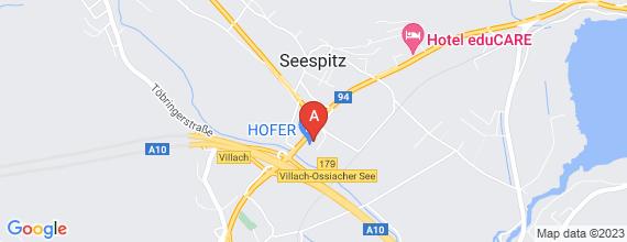 Standort von Lehre zum/-r Einzelhandelskaufmann/-frau  9521 Treffen, Gewerbegebiet