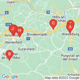 Standorte von Geringfügig und Teilzeit / Aushilfskraft Jobs in Steinakirchen Am Forst