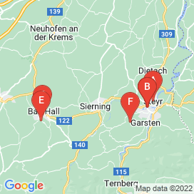 Standorte von Gehalt von 800 € bis 1500 € Jobs in Sierning - August 2018