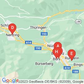 Standorte von Jobs in Bludenz - August 2018