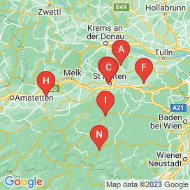 Standorte von 130+ Jobs in 3204 - August 2018