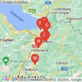 Standorte von Vollzeit Jobs in Diepoldsau - Juni 2018