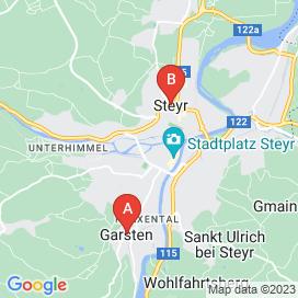 Standorte von Einkauf / Lager / Transport Jobs in Steyr - August 2018