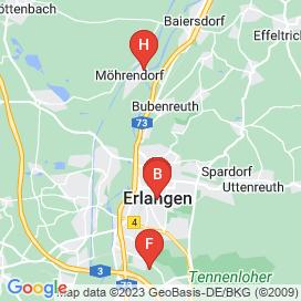 Standorte von EDV / IT Jobs in Baiersdorf - August 2018