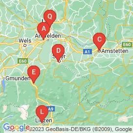 Standorte von 40+ Gastronomie Jobs in Steyr-Land-Bezirk - Juli 2018