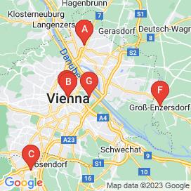 Standorte von Friseur Jobs in Wien - August 2018