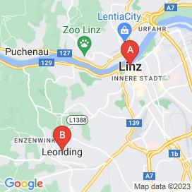 Standorte von Maler Jobs in Linz - Mai 2018