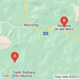 Standorte von Jobs in Mürzsteg - August 2018