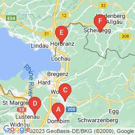 Standorte von Gastronomie Jobs in Bregenz - Mai 2018