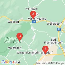 Standorte von Führerschein Klasse B Jobs in Winzendorf (Bezirk Winzendorf)