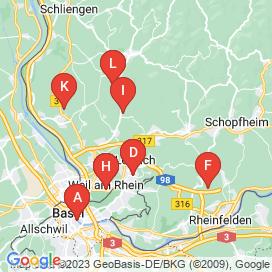 Standorte von 40+ Jobs in Basel - August 2018