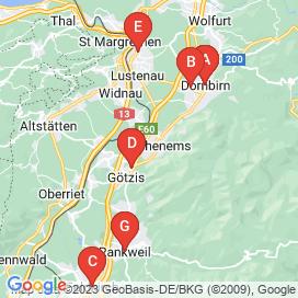 Standorte von Teilzeit/Aushilfskraft Jobs in Hohenems - Juni 2018